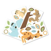 Animal Antics Wall Appliques