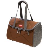 Argo Pet Avion Medium Airline Approved Carrier in Chocolate Brown