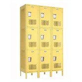 Invincible II Lockers - Triple Tier - 3-Section (Assembled)