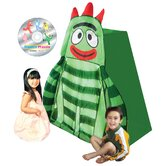 Nickelodeon Yo Gabba Gabba BrobeeTent with Bonus Music DVD