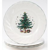 "Happy Holidays 10.5"" Dinner Plate"