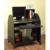 Computer Workstation in Black