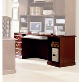 Legacy Single Pedestal Veneer Credenza