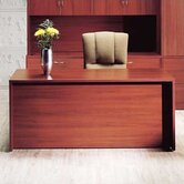"Hyperwork 72"" W Double Pedestal Office Credenza with Drawers"
