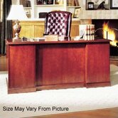 Legacy 66&quot; Single Pedestal Executive Desk