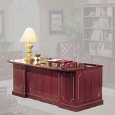 "Bedford 66"" Single Pedestal Executive Desk"