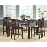 Tully 7 Piece Counter Height Dining Set