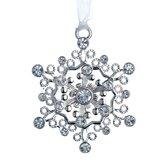 Lunt Annual Jeweled Snowflake Ornament