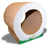 Golf Ball Recycled Paper Scratching Post