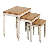 Country Nesting Tables (3 Piece Set)