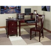 Merlot Standard Desk Office Suite
