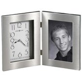 Lewiston Tabletop Clock with Picture Frame