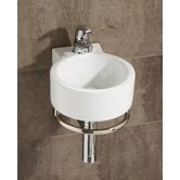 Corte Washbasin in White