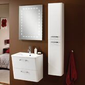 Palamas Furniture Tall Storage Unit in White