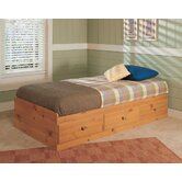 Mountain Pine Mates Twin Bed in Pine