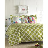 Kew Green Duvet Set - King