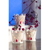 Belleek Candle Holders
