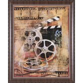 Dramatique II Framed Artwork