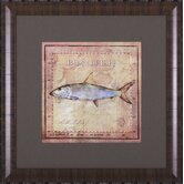 Ocean Fish IV Framed Artwork