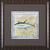 Ocean Fish XII Framed Artwork