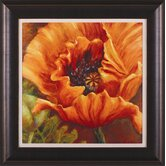 Orange Poppy Framed Artwork