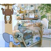 On Safari 17 Piece Crib Bedding Set