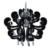 Carnivale 1 Light Crystal Chandelier