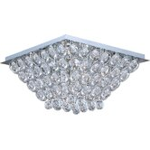 Brilliant 16 Light Flush Mount