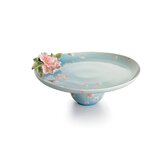 Sakura Floral Porcelain Cake Plate