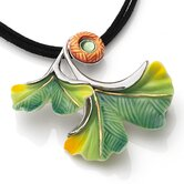 Ginkgo Flower Necklace