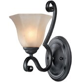 Winston  Wall Sconce in Olde World Iron