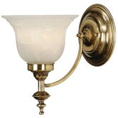 Richland One Arm Wall Sconce in Old Brass