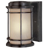 "La Mirage 8.75"" H Outdoor Wall Lantern in Winchester - Energy Star"