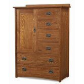 Mission 6 Drawer Door Chest