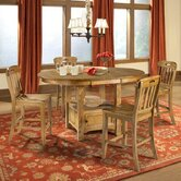 Kenosha 5 Piece Counter Height Dining Set