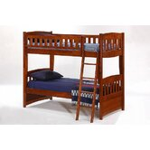 Spices Bedroom Twin over Twin Bunk Bed with Trundle