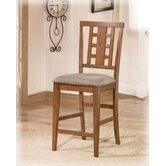 Trent 24&quot; Bar Stool Medium Brown