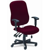 Comfort Series Mid-Back Executive Posture Swivel / Tilt Office Chair with Arms