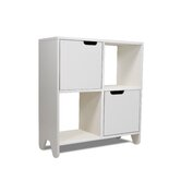 Hiya Bookcase in White
