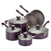 Porcelain Traditional 10-Piece Cookware Set