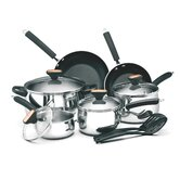 Signature Stainless Steel 12-Piece Cookware Set
