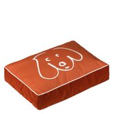 Doodle Dog Persimmon Pet Bed