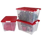 Iris Holiday Decor Storage