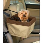 Skybox Pet Booster Seat in Khaki