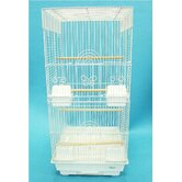 Tall Square 4 Perch Bird Cage