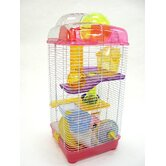 3 Level Clear Plastic Mice Cage
