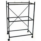 Three Shelf Stand for Medium Bird Breeding Cage