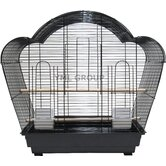 1/2&quot; Bar Spacing Shell Top Small Bird Cage