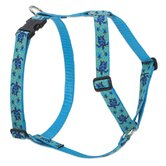 "Turtle Reef  1"" Adjustable Large Dog Roman Harness"
