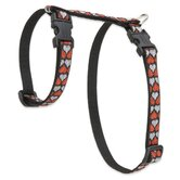 "Love Struck 1/2"" Adjustable H-Style Cat Harness"